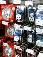 Where to buy a power adapter for Falkland Islands in the UK