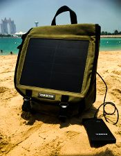 How well do solar powered chargers work in Tuvalu?