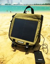 Will a solar battery charger work in The Bahamas?
