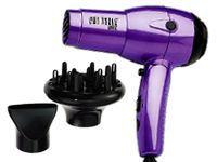 What is a good folding dual voltage travel ionic hair dryer with diffuser for Suriname?
