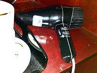 Are there hair dryers in hotel rooms in South Africa?
