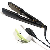 How can I add a safety timer to my existing hair straighteners?