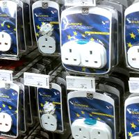 Where to buy a power adapter for The US Virgin Islands in the UK