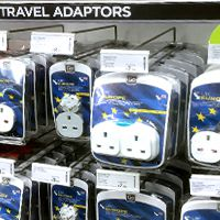 Where to buy a power adapter for Guadeloupe in the UK