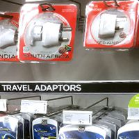 Where to buy a power adapter for Ukraine in the UK