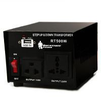 What is the difference between a power converter and a power transformer?