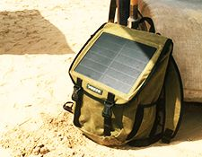 How well do solar powered chargers work in Benin?