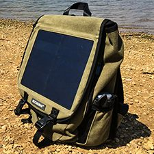Does a solar powered charger work in Afghanistan?