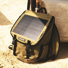 How well do solar powered chargers work in Ghana?