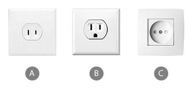 Which plug adapter will you need when using a hair dryer in Thailand?