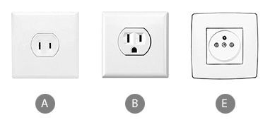 Which travel adapter do you need to bring for using a clothes iron in French Polynesia?