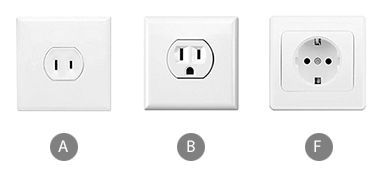 Which power adapter do you need for using a hair dryer in Aruba?