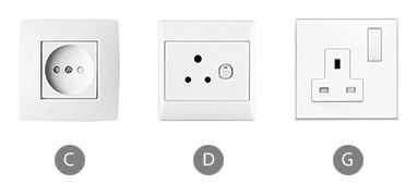 Which plug adapter do you need to bring for using a clothes iron in The United Arab Emirates?