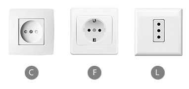 What plug sockets are used in Italy?