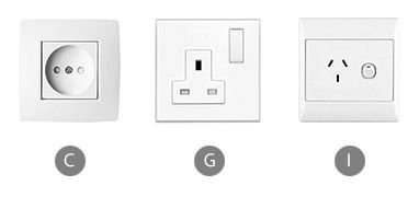 Which plug adapter do you need when using a hair dryer in Vanuatu?