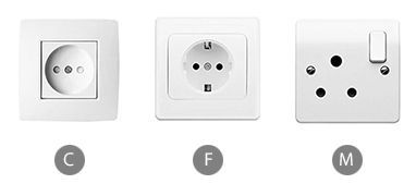 What plug sockets are used in Mozambique?