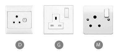 Which plug adapter will you need to use a hair dryer in Sri Lanka?