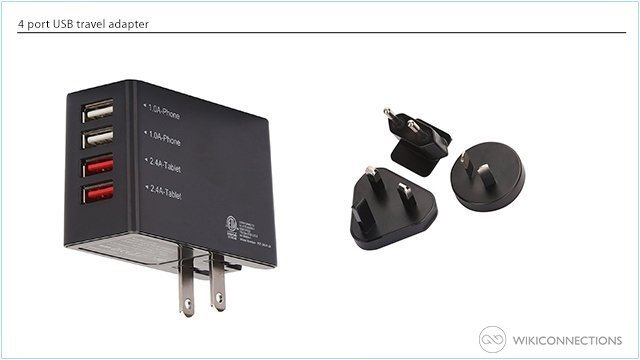 What is the best power adapter for a Kindle Fire in Trinidad?