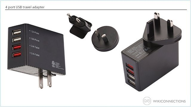 What is the best travel adapter for recharging the iPad in Cyprus?