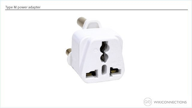 What is the best power adapter for Lesotho?